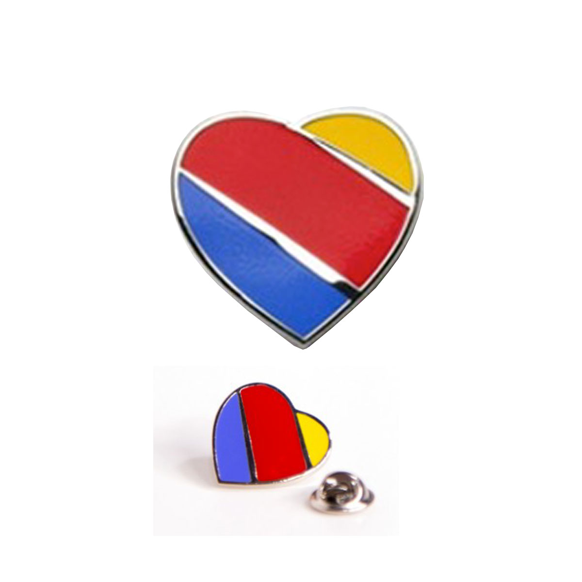 Southwest heart lapel pin buycottarizona