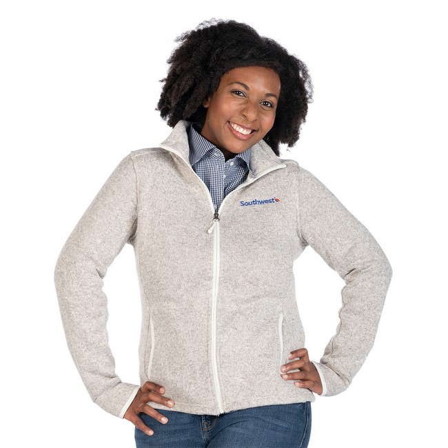 Women's Heathered Knit Jacket